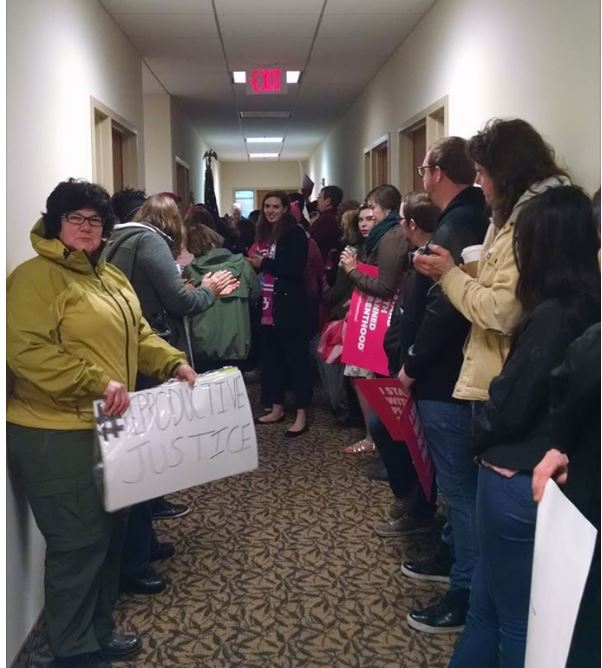 AHCA 11th hour protest