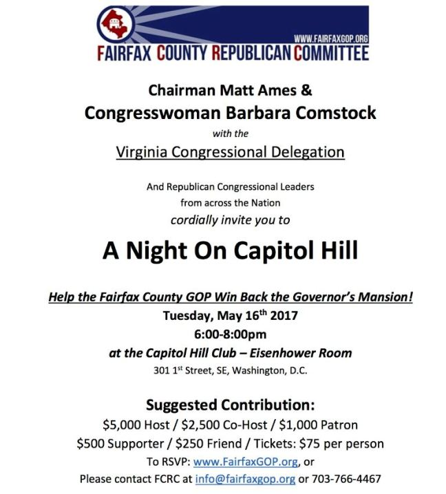 A Night on Capitol Hill