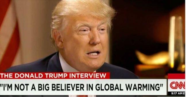 Trump ain't a believer